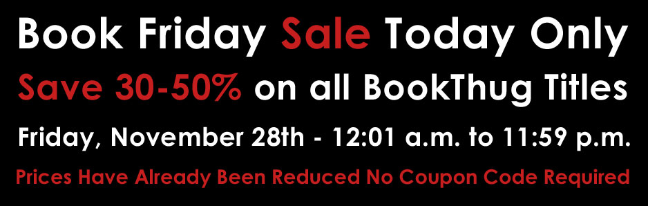Book Friday is Here - Save 30-50% on all BookThug Titles
