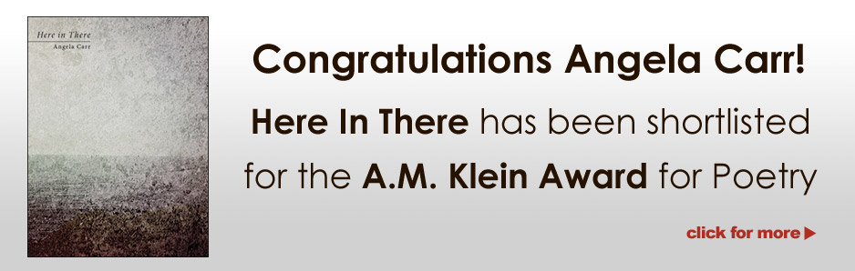 Here in There - Finalist for the 2014 A.M. Klein Prize for Poetry