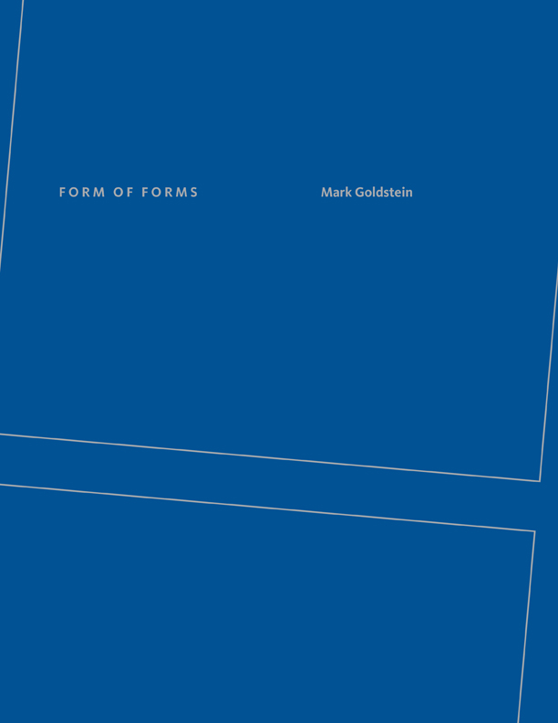 Goldstein Leipzig form of forms by goldstein bookthug ca