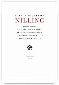 Nilling by Lisa Robertson