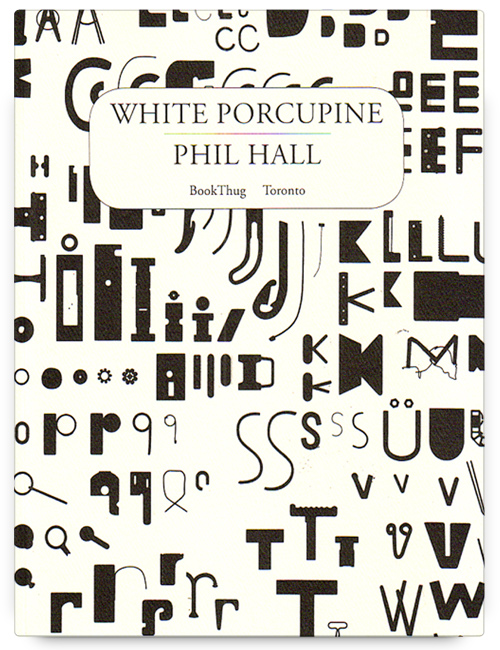 White Porcupine by Phil Hall