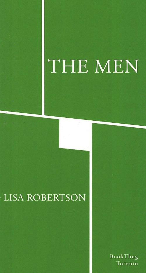 The Men by Lisa Robertson
