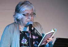 Lee Maracle reading from Conversations with Canadian at the 2017 BookThug Fall Launch