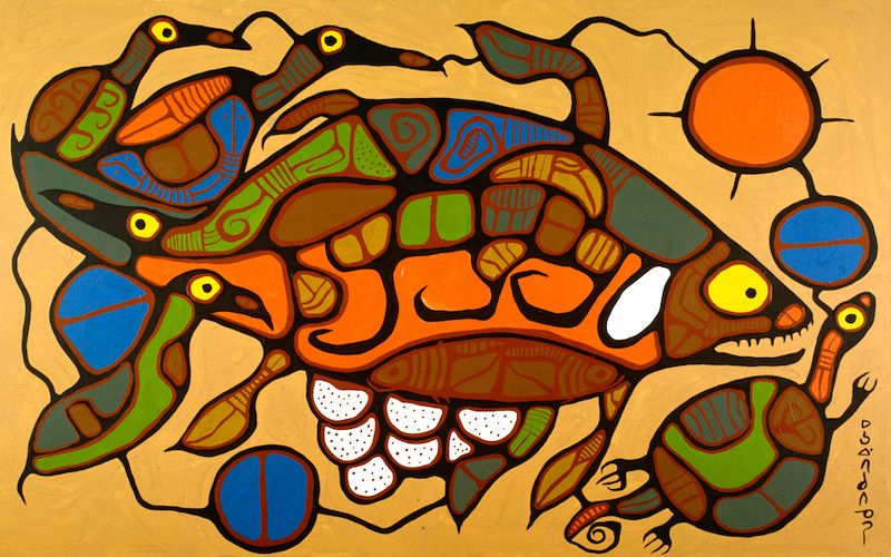 Life Regenerating by Morrisseau Norval