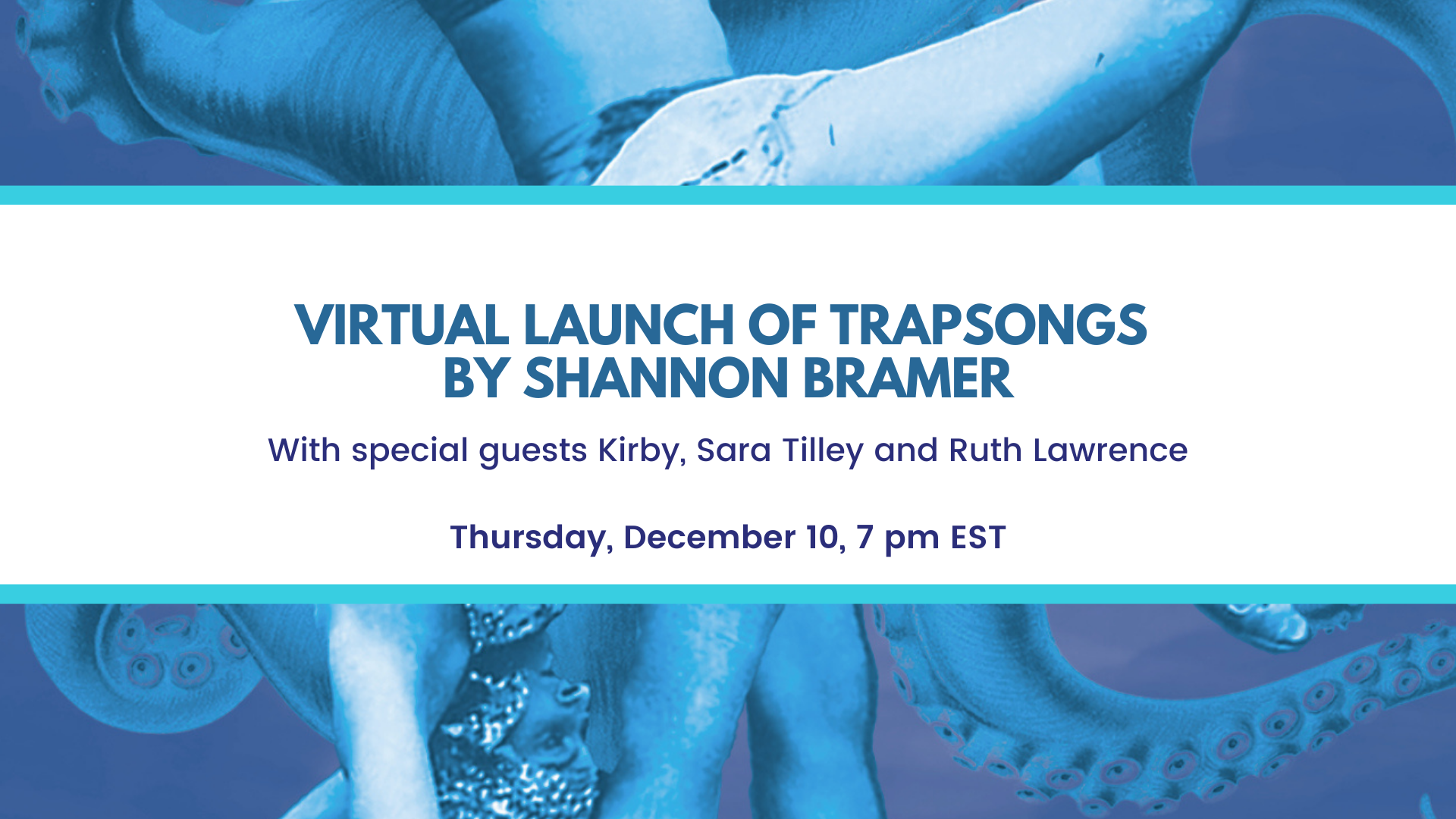 Virtual Launch of Trapsongs by Shannon Bramer