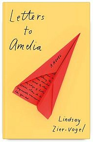 Book Cover for Letters to Amelia by Lindsay Zier-Vogel